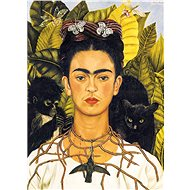 Eurographics Puzzle Portrait of Frida Kahlo with a thorn necklace of 1000 pieces - Puzzle