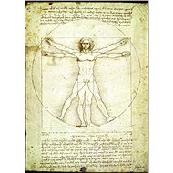 Eurographics Puzzle Vitruvian Man - A proportion of a human figure of 1000 pieces - Puzzle