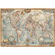 Educa Puzzle Old Political Map of the World 1500 pieces - Puzzle