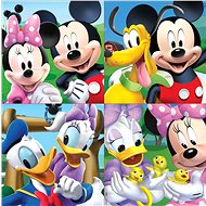 Educa Puzzle in Mickey Mouse and Friends 4-in-1 (12,16, 20, 25 pieces) - Puzzle