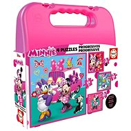 Educa Puzzle in Case Minnie and Daisy 4-in-1 (12,16,20,25 pieces) - Puzzle
