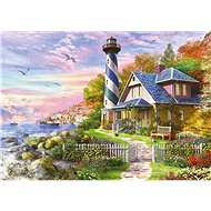 Educa Puzzle Lighthouse in Rock Bay 4000 pieces - Puzzle