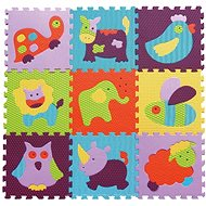 Baby Great Foam Puzzle Colorful Animals SX (30x30) - Foam Puzzle