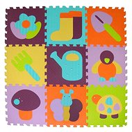 Baby Great Foam Puzzle Color Garden SX (30x30) - Foam Puzzle