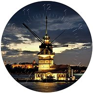 Art Puzzle Clock Maiden's Tower, Turkey 570 pieces - Puzzle