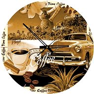 Art Puzzle Clock Cup of coffee 570 pieces - Puzzle