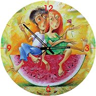 Art Puzzle Clock We love red 570 pieces - Puzzle