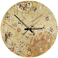 Art Puzzle Clock Map of Captain Reise 570 pieces - Puzzle