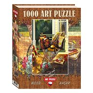 Art Wooden puzzle Shadow of summer 1000 pieces