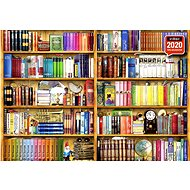 Anatolian Puzzle Shelf with books of 1000 pieces - Puzzle