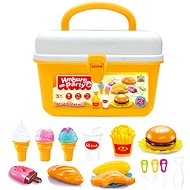 G21 Hamburger and ice cream in a briefcase - Game Set
