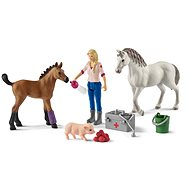 Schleich 42486 Doctor's visit to a Mare and Foal