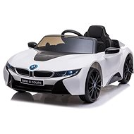 BMW i8, white - Children's electric car