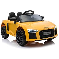 Audi R8 small, yellow - Children's electric car