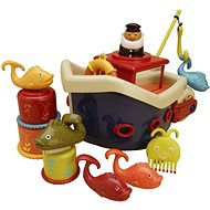 B-Toys Ship With Captain Fish & Splish - Water Toy