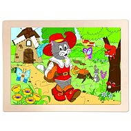 Wooden Puzzle Cat in Boots - Puzzle