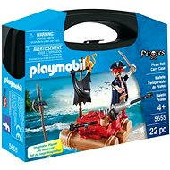 Playmobil 5655 Pirate Raft Carry Case - small - Building Kit