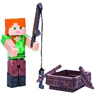 Minecraft Alex with Boat - Figurine
