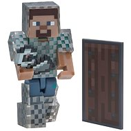 Minecraft Steve with Chain Armor - Figurine