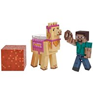 Minecraft Steve with Lama - Figurine