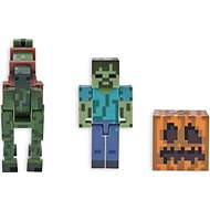 Minecraft Zombie with Zombie Horse - Figurine