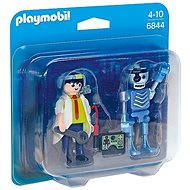 Playmobil 6844 Scientist with Robot Duo Pack - Figures
