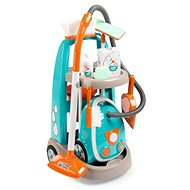 Smoby Cleaning Trolley with a Vacuum Cleaner - Game set