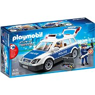 Playmobil 6920 Squad Car with Lights and Sound - Building Kit