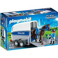 Playmobil 6922 Police with Horse and Trailer - Building Kit