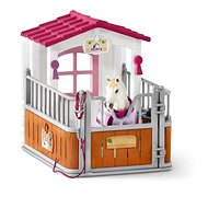 Schleich Stage with mare Lusitano - Game Set