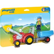 Playmobil Tractor with Trailer 6964 - Building Kit