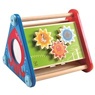 Hape Happy Didactic Triangle with Activities - Wooden Toy