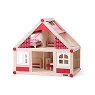 Woody Small Dollhouse with Accessories - Dollhouse