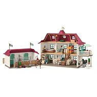 Schleich Big House with stables and accessories - Game set