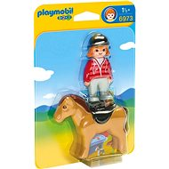Playmobil 6973 Rider with horse - Building Kit