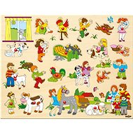 Woody Big Puzzle with Handling Pegs - Puzzle