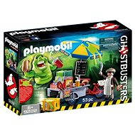 Playmobil 9222 Ghostbusters Slimer with Hotdog Stand