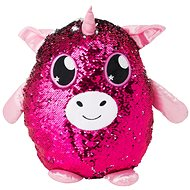Glitter Palz - Big - Pink - Teddy Bear