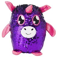 Glitter Palz - Small Unicorn - Purple - Teddy Bear
