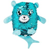 Glitter Palz - Small Teddy Bear - Light Blue - Teddy Bear