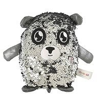 Glitter Palz - Little Teddy Bear - Silver - Teddy Bear