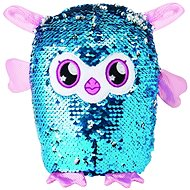 Glitter Palz - Little Owl - Pink - Figure