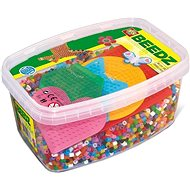 Ses Beadz, Coloured, 7000pcs + 5 Plates - Creative Kit