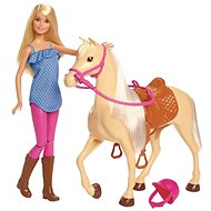Barbie Doll with horse - Doll Accessory