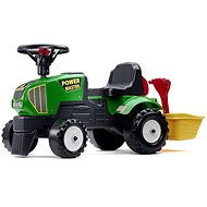 Tractor with Steering Wheel and Trailer - Balance Bike/Ride-on