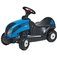 Tractor with Steering Wheel - Blue - Balance Bike/Ride-on