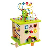 Hape Motor Cube with Maze - Educational Toy