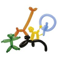 Modelling Balloons 100pcs, mixed colours - Game set
