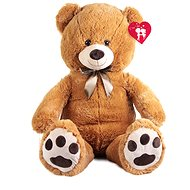 Rappa Big Bear with Tag - Darker (100cm) - Teddy Bear