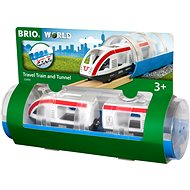 Brio World 33890 Tunnel and Passenger Train - Rail Set Accessory